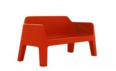 Pedrali PLUS AIR sedačka červená