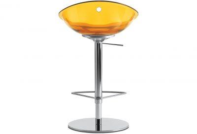 Stolička oranžová Pedrali GLISS 970