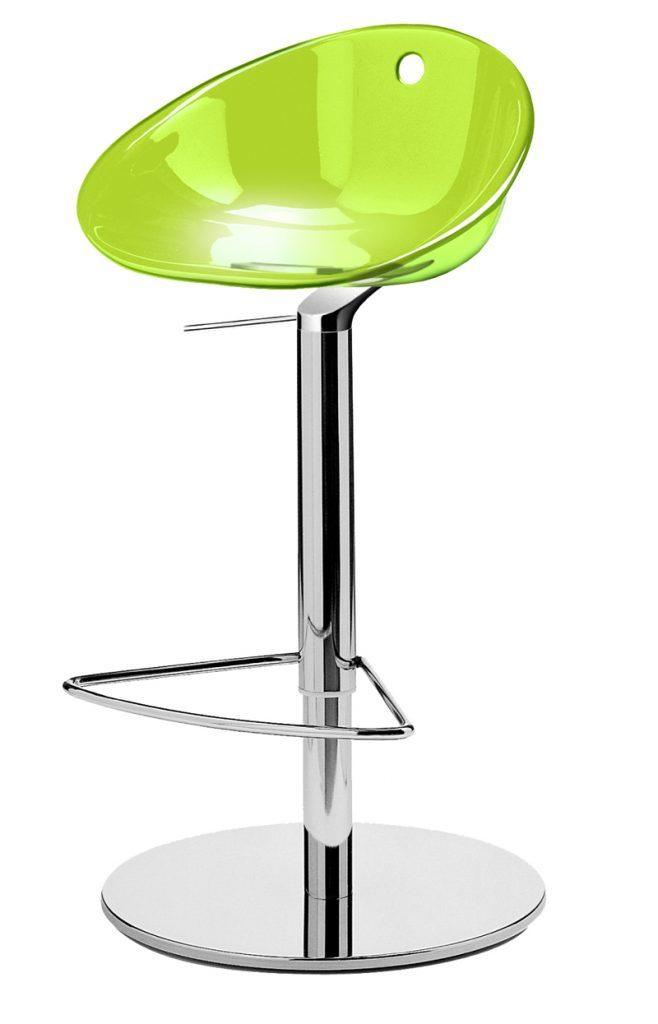 Stolička zelená Pedrali GLISS 970