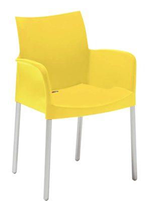 Kreslo žlté Pedrali ICE 850