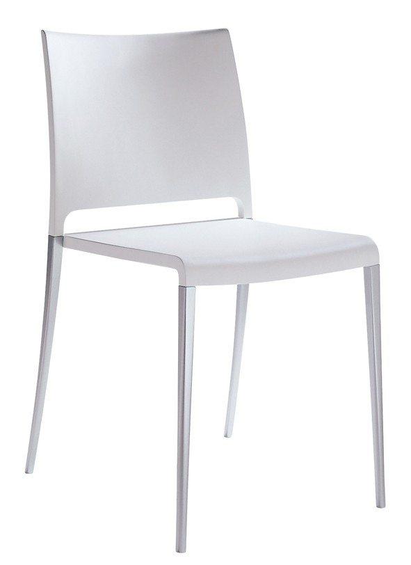 Stolička biela Pedrali MYA 700