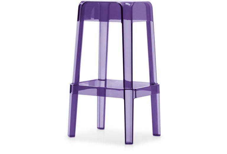 Pedrali RUBIK stolička fialová
