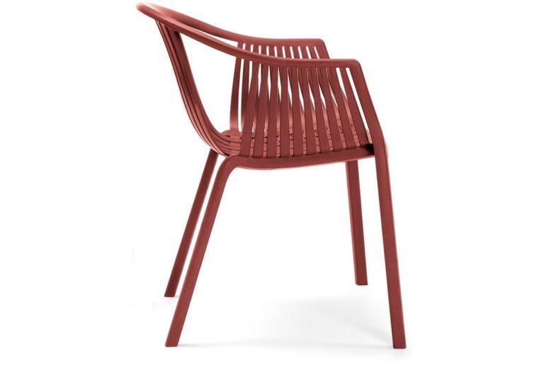 Pedrali TATAMI stolička červená