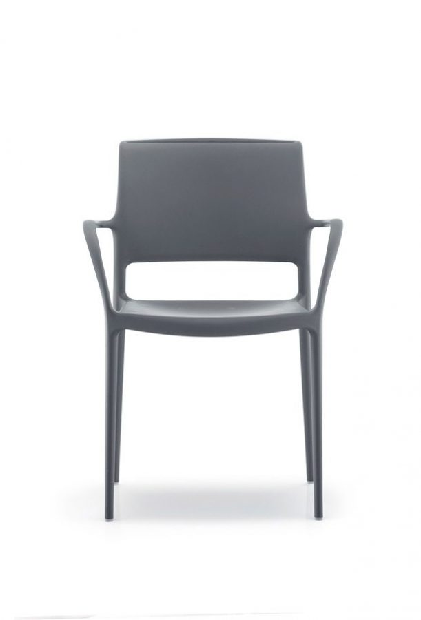 ARA stolička tmavo sivá Pedrali