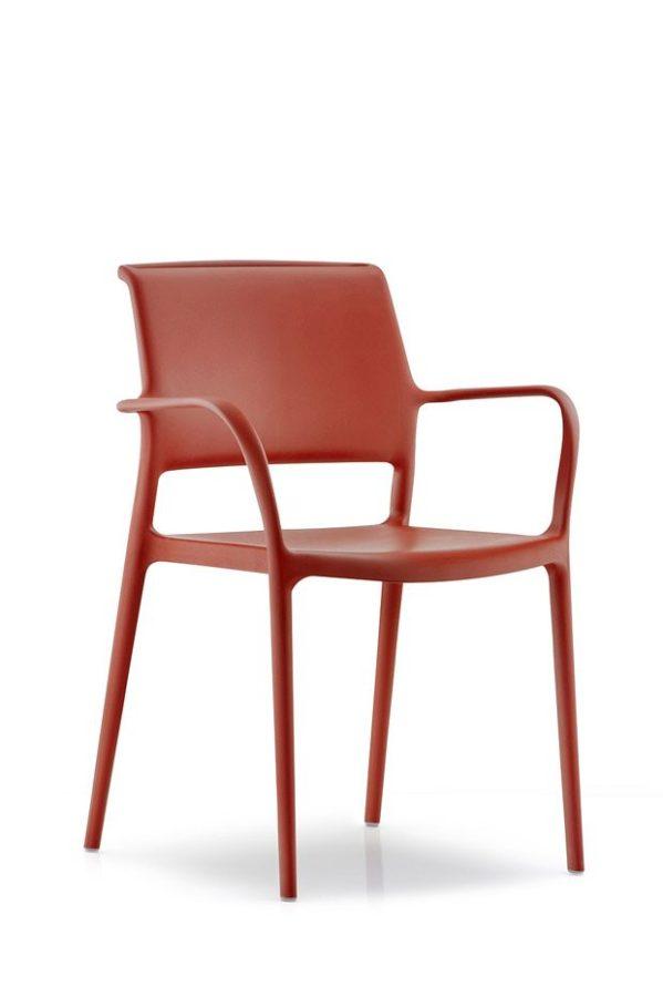 ARA stolička červená Pedrali