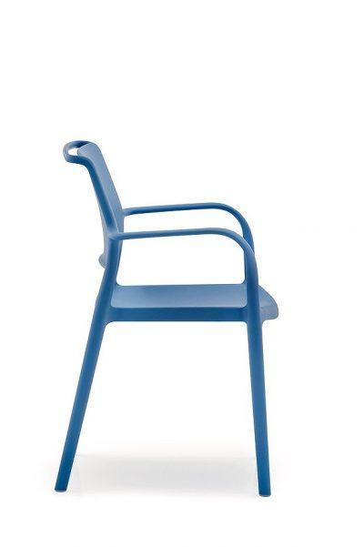 ARA stolička modrá Pedrali