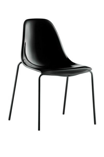 Pedrali DAY DREAM stolička čierna
