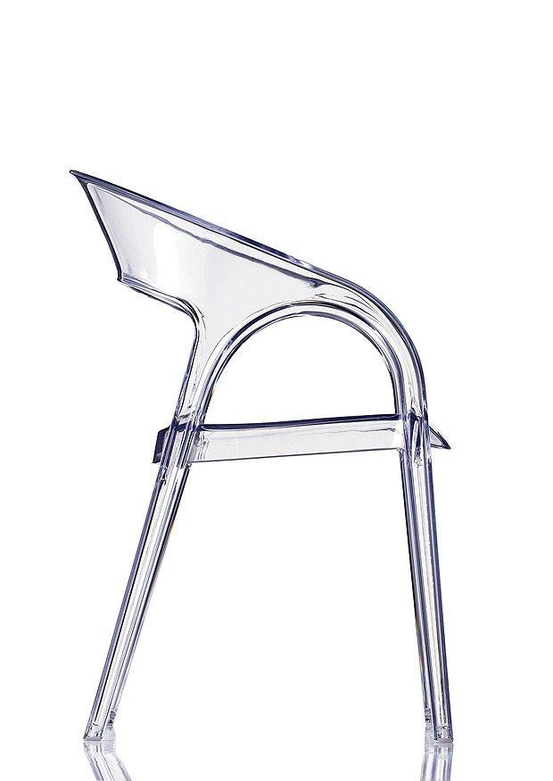 Pedrali GOSSIP stolička transparentná