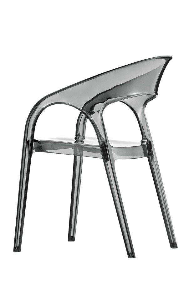 Pedrali GOSSIP stolička dymová