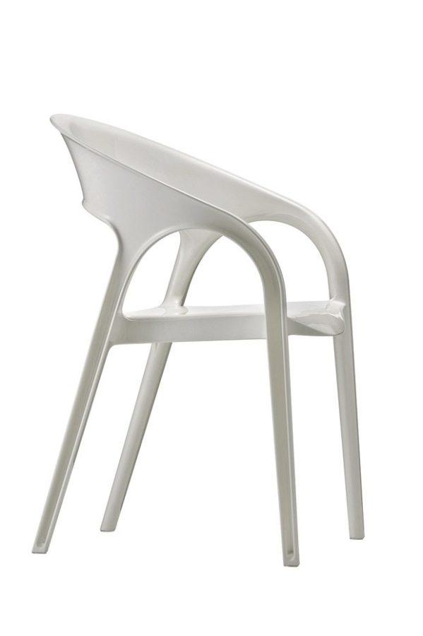 Pedrali GOSSIP stolička biela