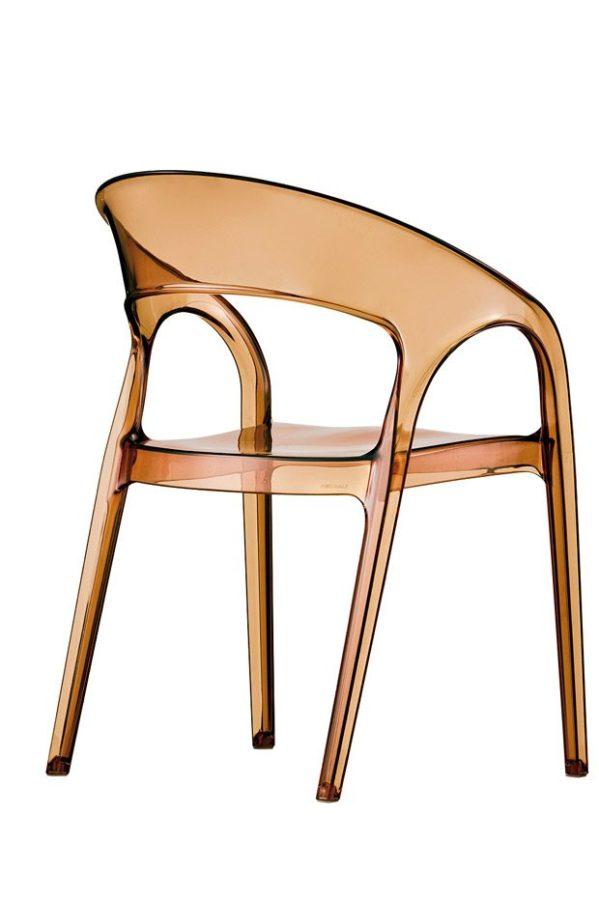 Pedrali GOSSIP stolička jantárová