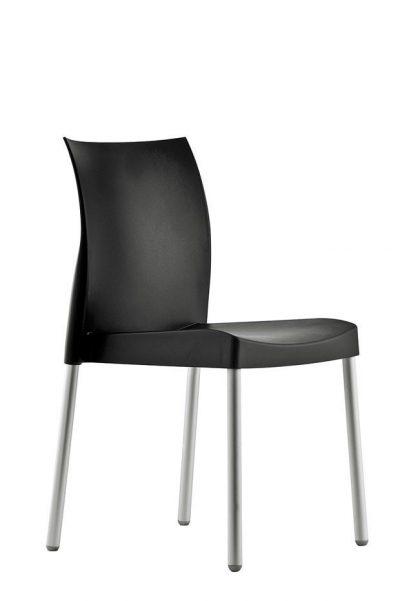 Stolička čierna Pedrali ICE 800
