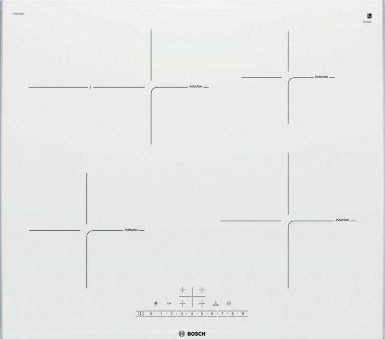 Indukčný sklokeramický varný panel s ovládaním Bosch PIF672FB1E