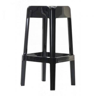 Pedrali RUBIK stolička čierna