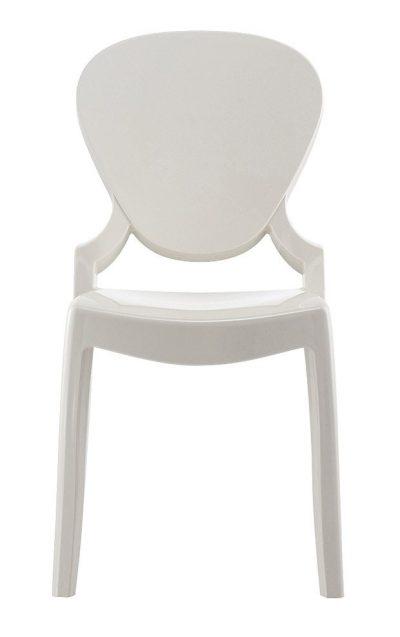 QUEEN stolička biela Pedrali