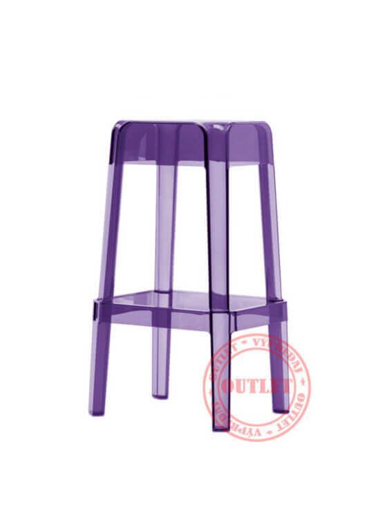 Pedrali RUBIK stolička fialová (outlet)