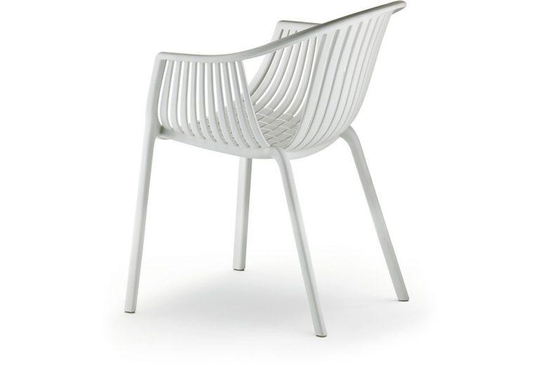 Pedrali TATAMI stolička biela