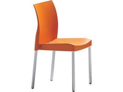 Stolička oranžová Pedrali ICE 800