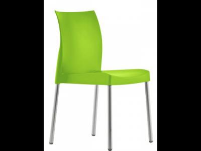 Stolička zelená Pedrali ICE 800