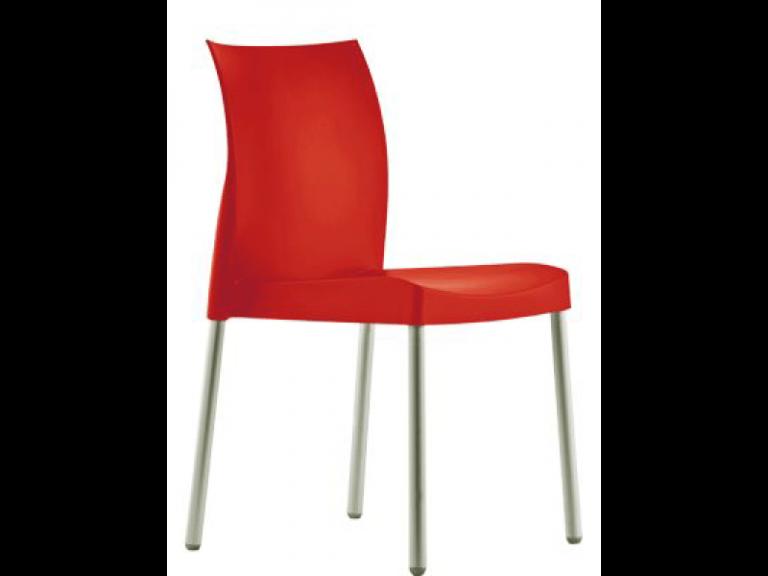 Stolička červená Pedrali ICE 800
