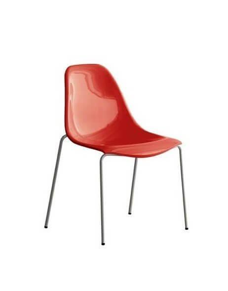 Pedrali DAY DREAM stolička červená