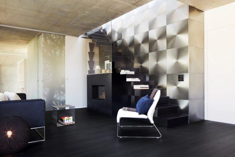 Trendpark Flow Edition, Jaseň, Nero Drevená podlaha