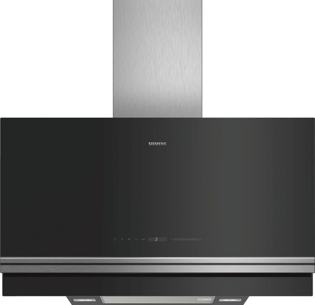 Plochý komínový odsávač pár - Siemens Home Connect LC97FVW60