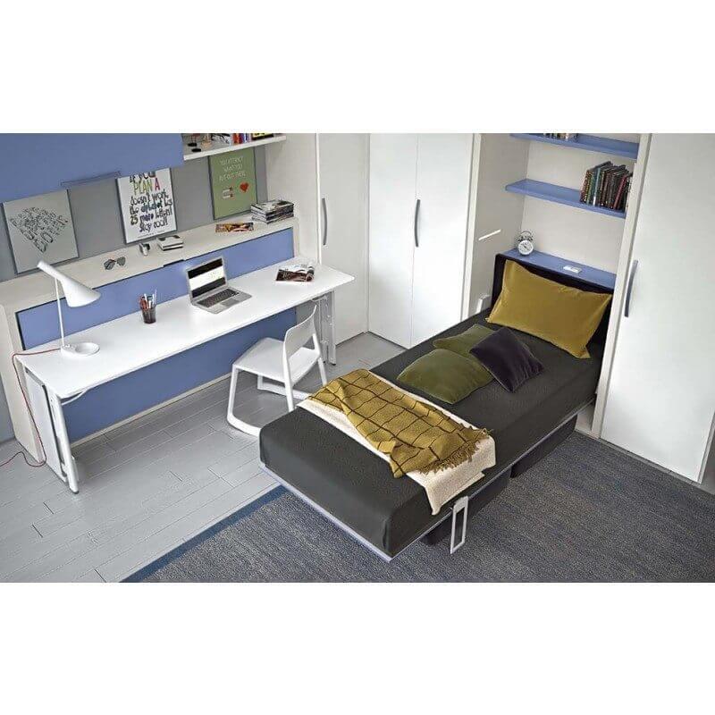 58e73d31c7f7 Multifunkčné detské postele s písacím stolíkom Dynamic Night  1 ...