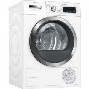Kondenzačná sušička Home Connect Bosch WTW855H0BY