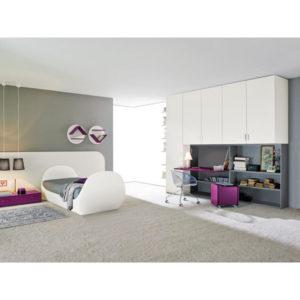 Svietiaca posteľ s ľahko umývateľným povrchom pre malých maliarov