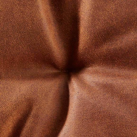 Kuchynská stolička - hrdzavá | kov | textil