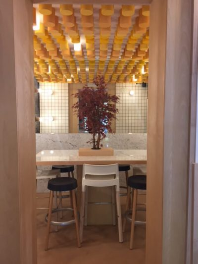 Interiérová barová stolička | Natural Gim | Scab Design