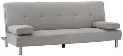 Rozkladacia sedačka | sivá | textilná