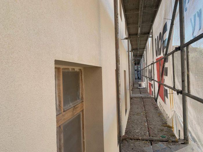 Revitalizácia odvetravana fasada