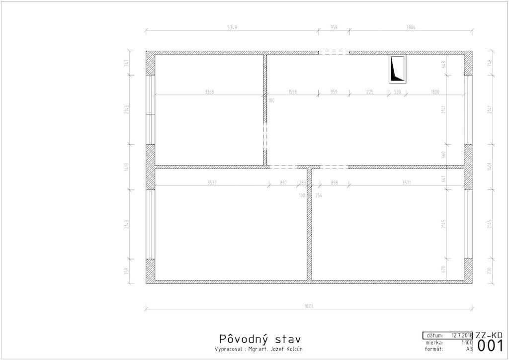 Návrh interiéru - interiérový dizajn