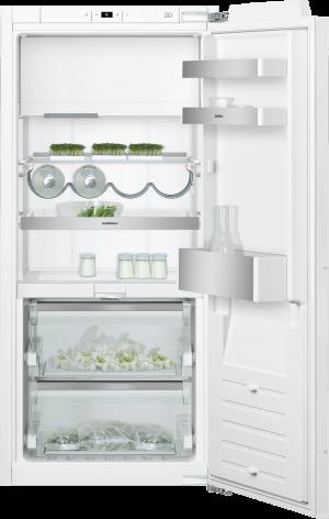 Kombinácia chladnička s mrazničkou 122,5 cm x 56 cm   Gaggenau RT222102 séria 200