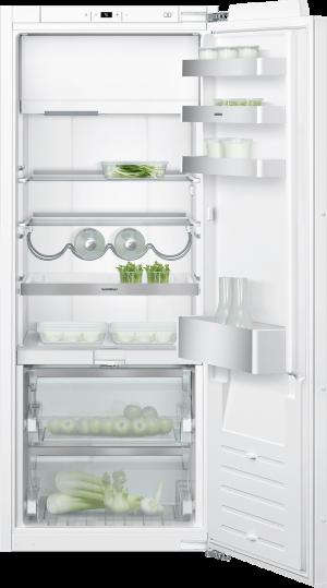Kombinácia chladnička s mrazničkou 140 cm x 56 cm   Gaggenau RT242203 séria 200