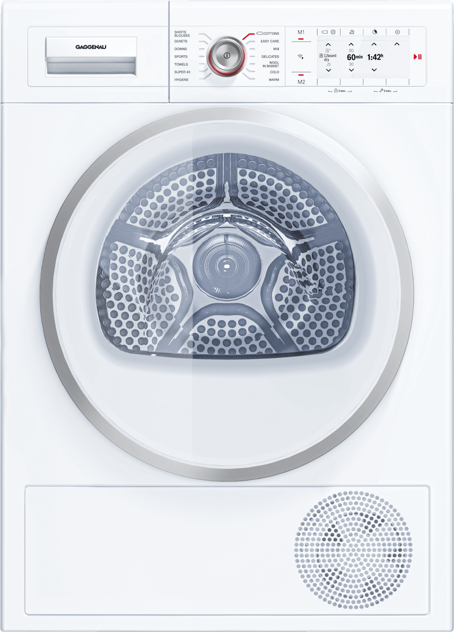 Sušička voľne stojaca, zasúvateľná alebo stohovateľná   Gaggenau WT260101 séria 200