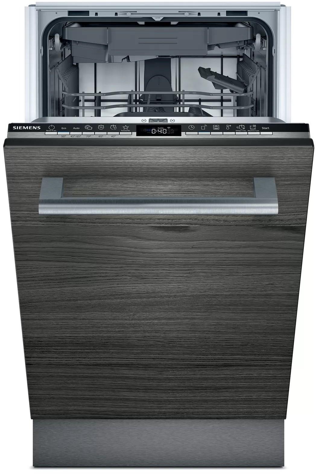 Umývačka riadu 45 cm plne zabudovateľná | Siemens | SR63EX28ME