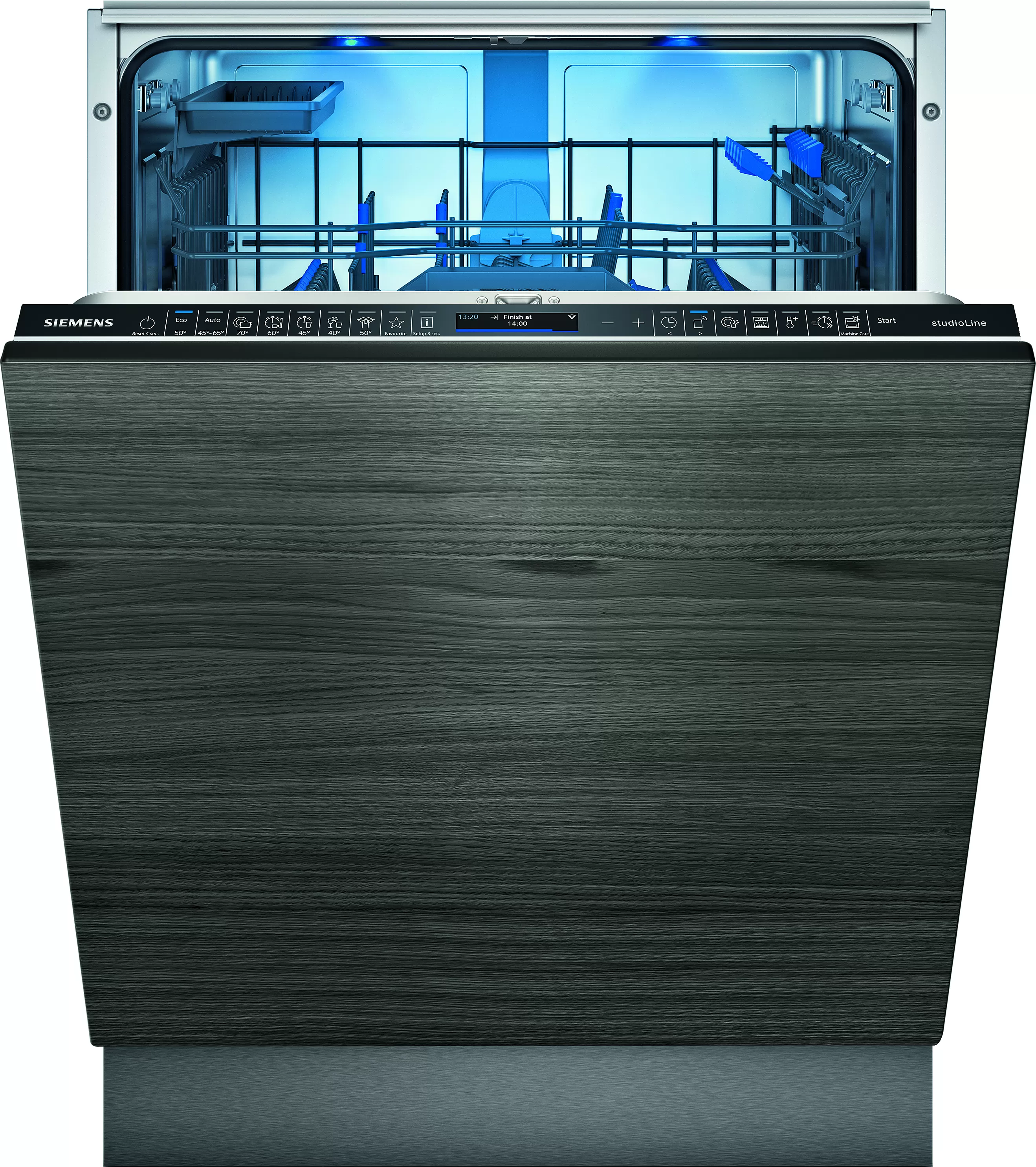 Umývačka riadu 60 cm plne zabudovateľná | SN87Y800BE | Siemens