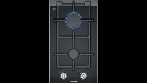 Domino plynová varná doska 30 cm sklokeramika | čierna ER3A6BD70