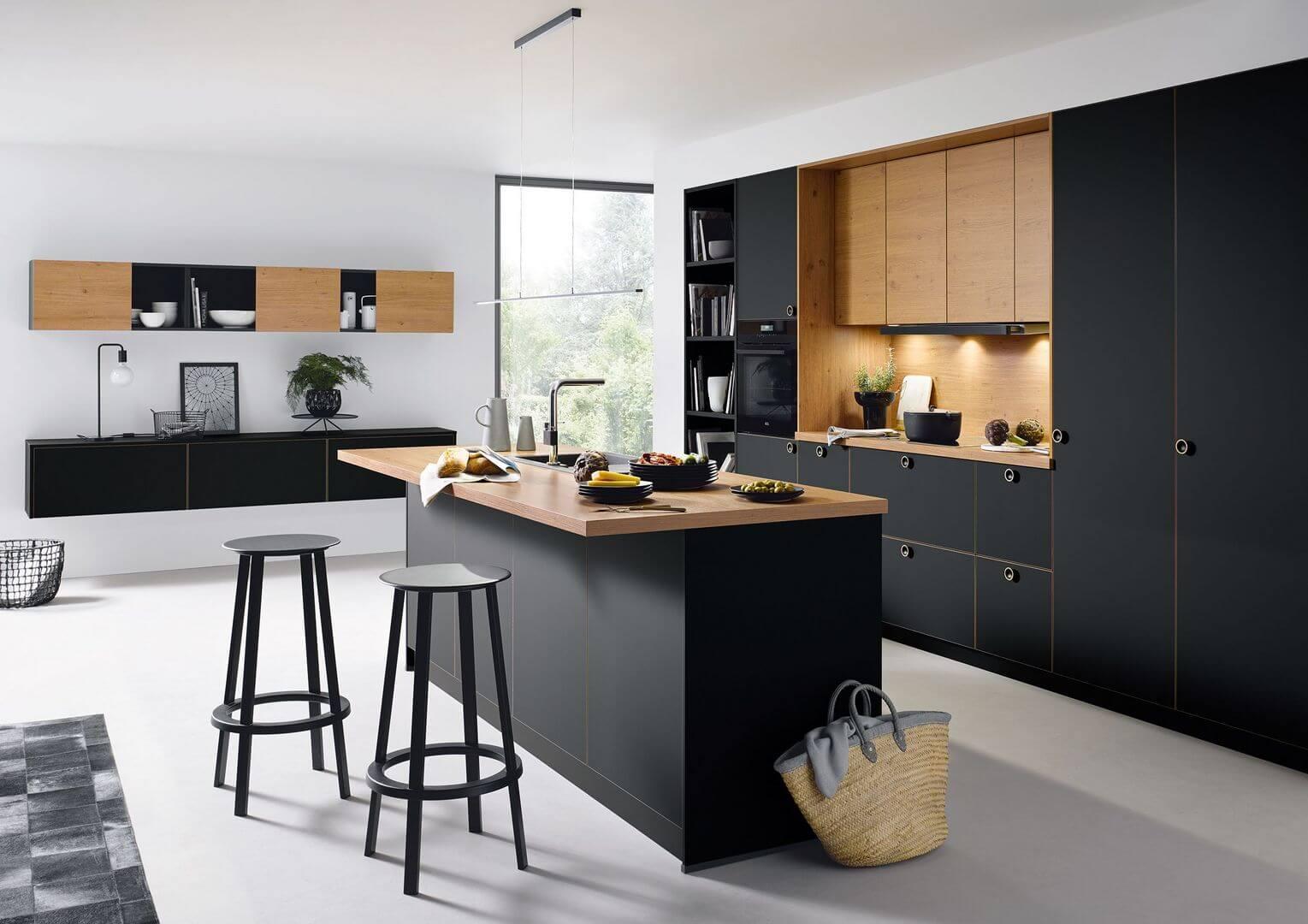 Kuchyňa STRATO MAT - protiklady sa priťahujú   Schuller C